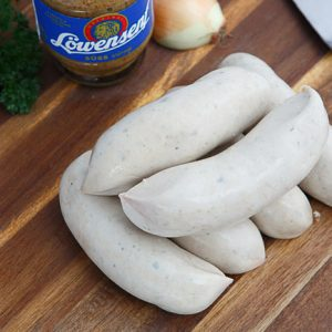 German bratwurst weisswurst pre-cooked