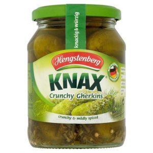 knax crunchy gherkins